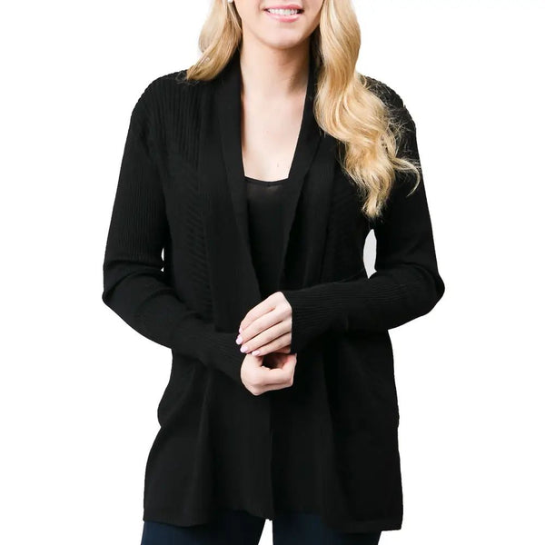 Liana Black Cardigan