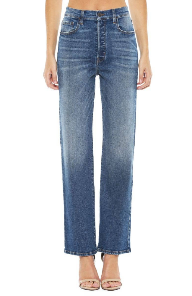 Cello Jeans Classic Blue Wash High Rise Jeans