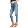 Aria Embroidered High Rise Jean