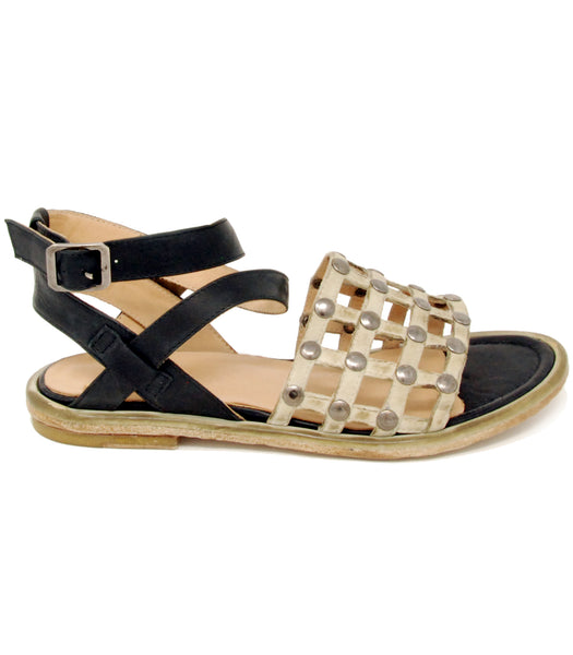 La Bottega di Lisa 3002 Black Sandal