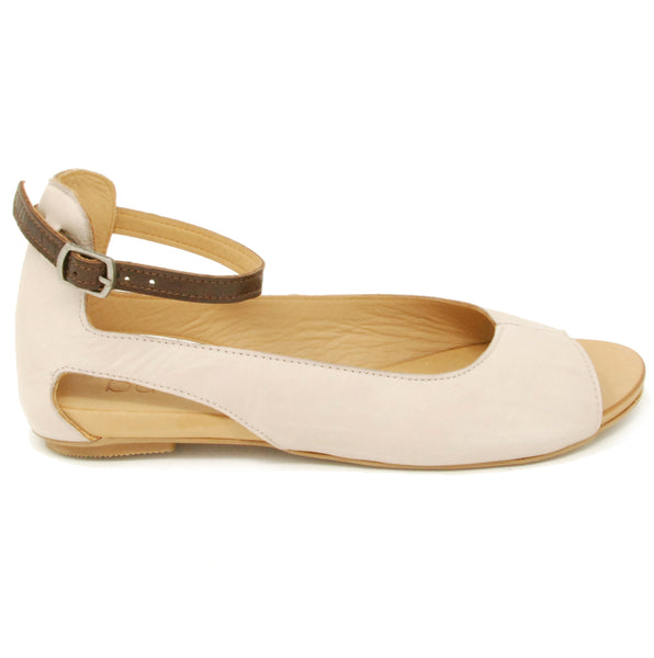 Bueno Donna Light Grey Flat Sandal