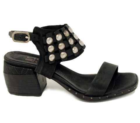 AS98 Ames Nero Sandal