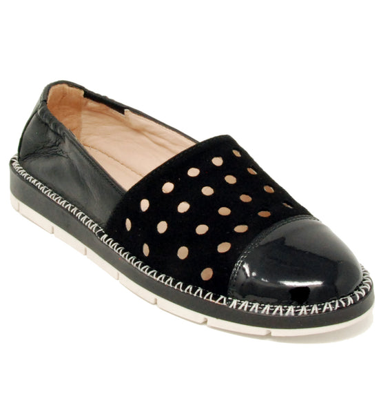 Hispanitas Maiko Black Slip On
