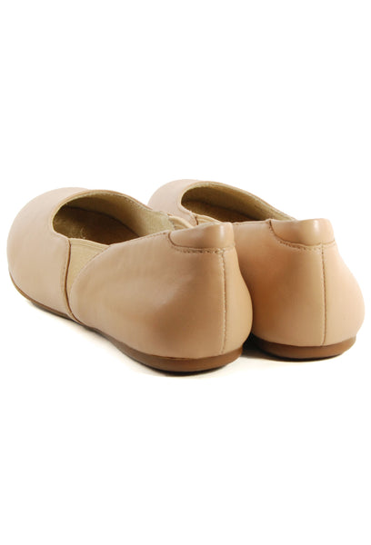 Softwalk Norwich Nude Flat
