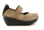 Bernie Mev Lulia Bronze Wedge