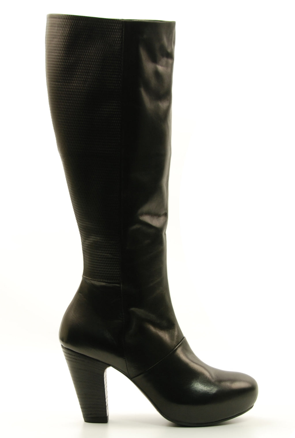 Vic by Vic Matie Stivale Omnia 9809 Tall Black Heeled Boot