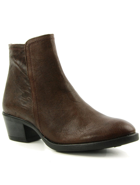 Eric Michael Claudia Brown Ankle Boot