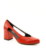 Audley 17275 Fire Baby Calf Cut-out Pump