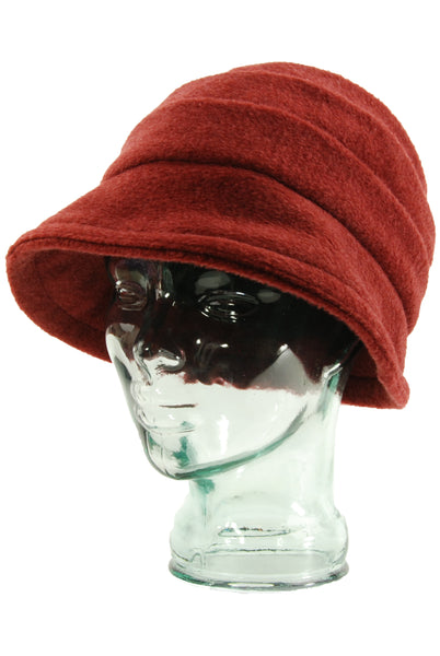 Lillie & Cohoe Mohair Beatrice Terra Cotta Hat