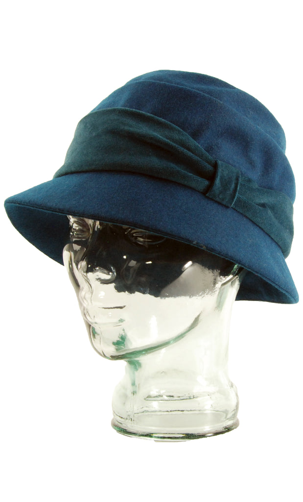 Lillie   Cohoe Wool Classic Freda Teal Hat  0774a223747