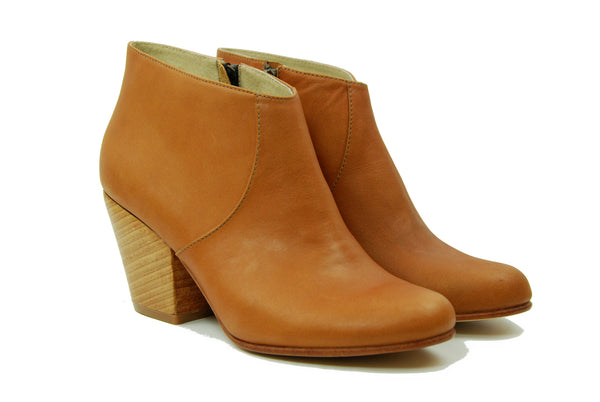 Fortress of Inca Adriana Coco Scotch Heeled Ankle Boot