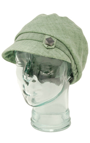 Lillie & Cohoe Indigo Marlin Sea Glass Hat