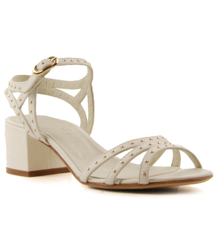 AGL D631008 Tully Bianco White Studded Sandal
