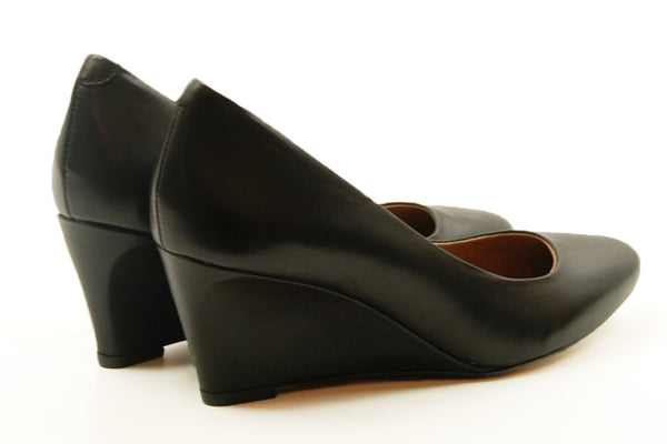 Corso Como Jayne Black Silk Wedge