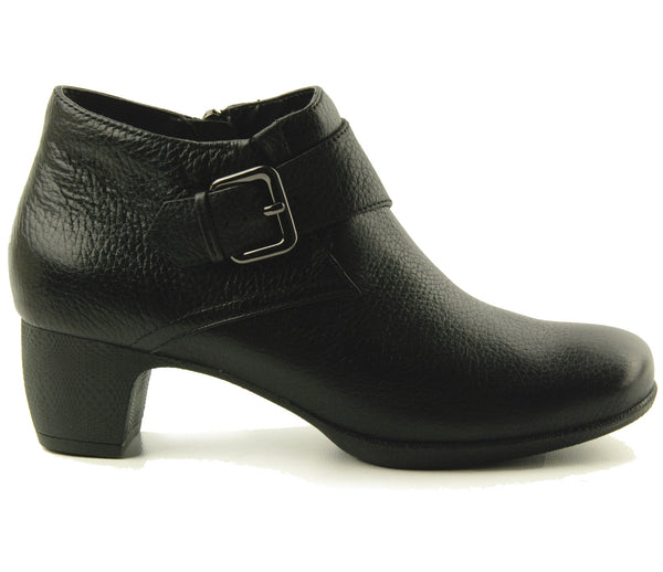 Softwalk Imlay Black Ankle Boot