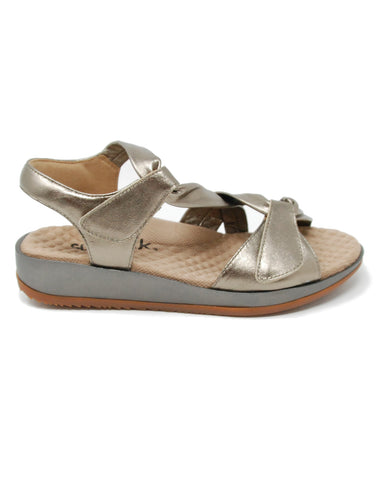 Softwalk Del Rey Bronze Sandal
