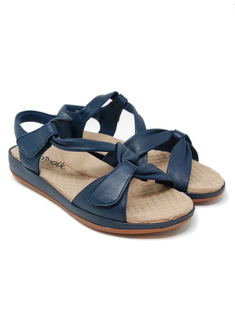 Softwalk Del Rey Navy Sandal