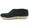 Glerups A02 Charcoal Slipper