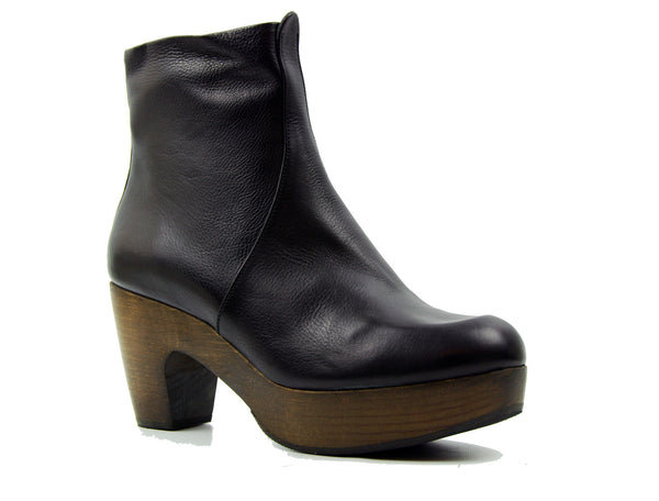 Coclico Tecla Black Ankle Boot