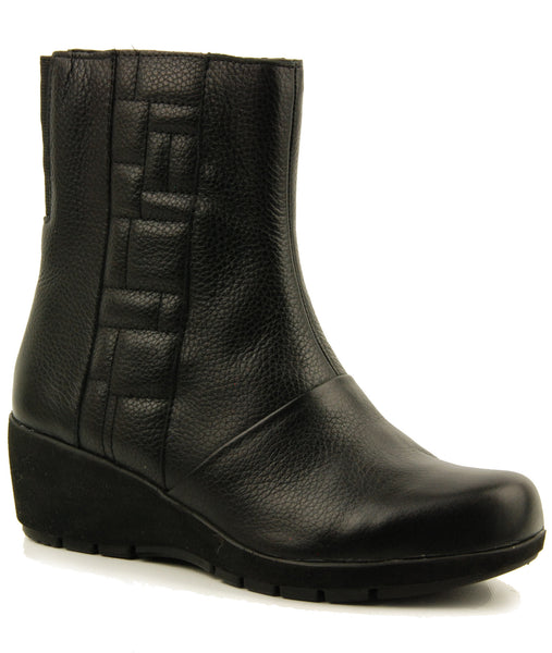 Aetrex Jane Black Ankle Boot