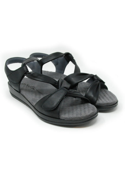 Softwalk Del Rey Black Sandal