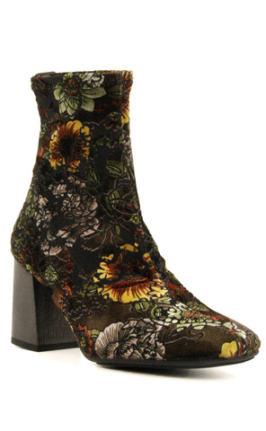 Hispanitas Portia Textile Stretch Multi Ankle Boot