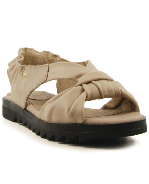 Bussola Bailey Doeskin Flat Sandal
