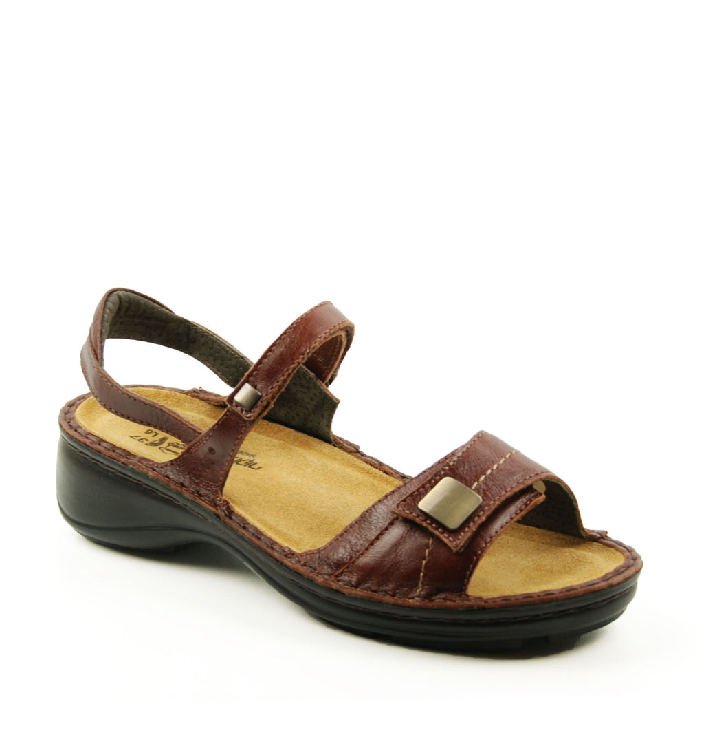 Naot Papaya Luggage Heeled Sandal