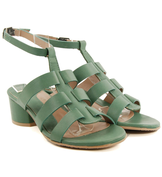 Audley 18842 Green Sandal