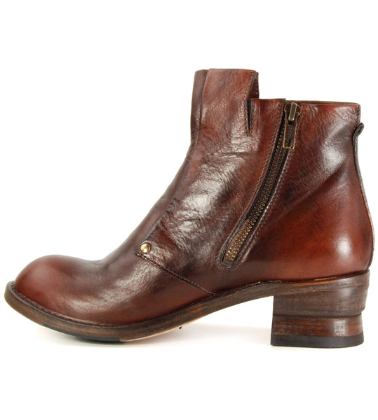 Shoto 51298 Cuoio Crust Oil Ankle Boot