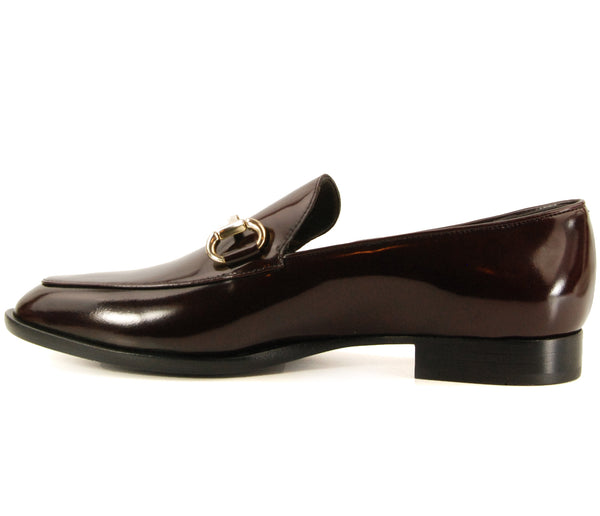 AGL D714054 Sirio Plum Patent Loafer