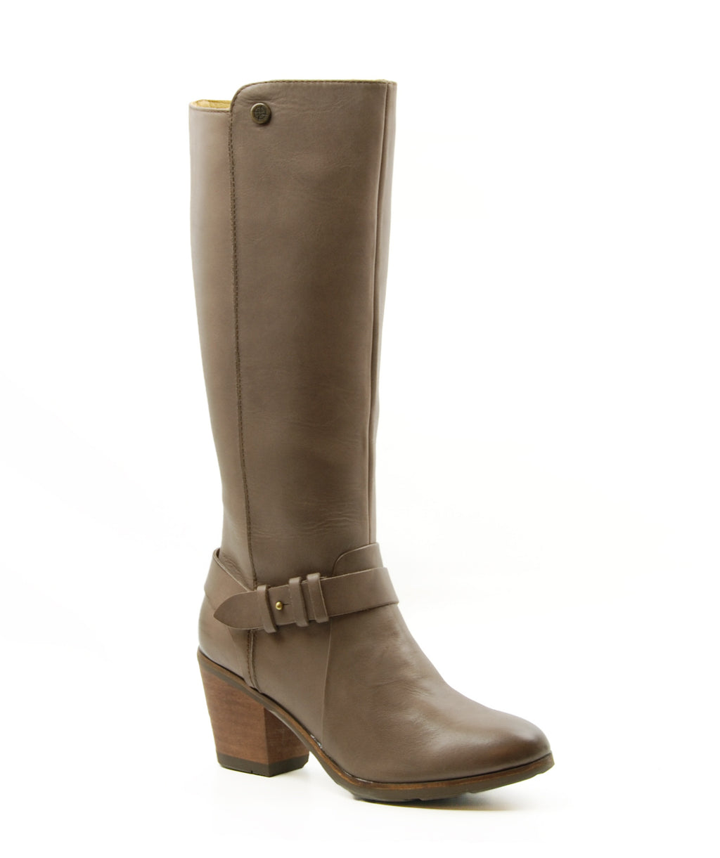 Bussola Reikiavik Taupe Tall Heeled Boot