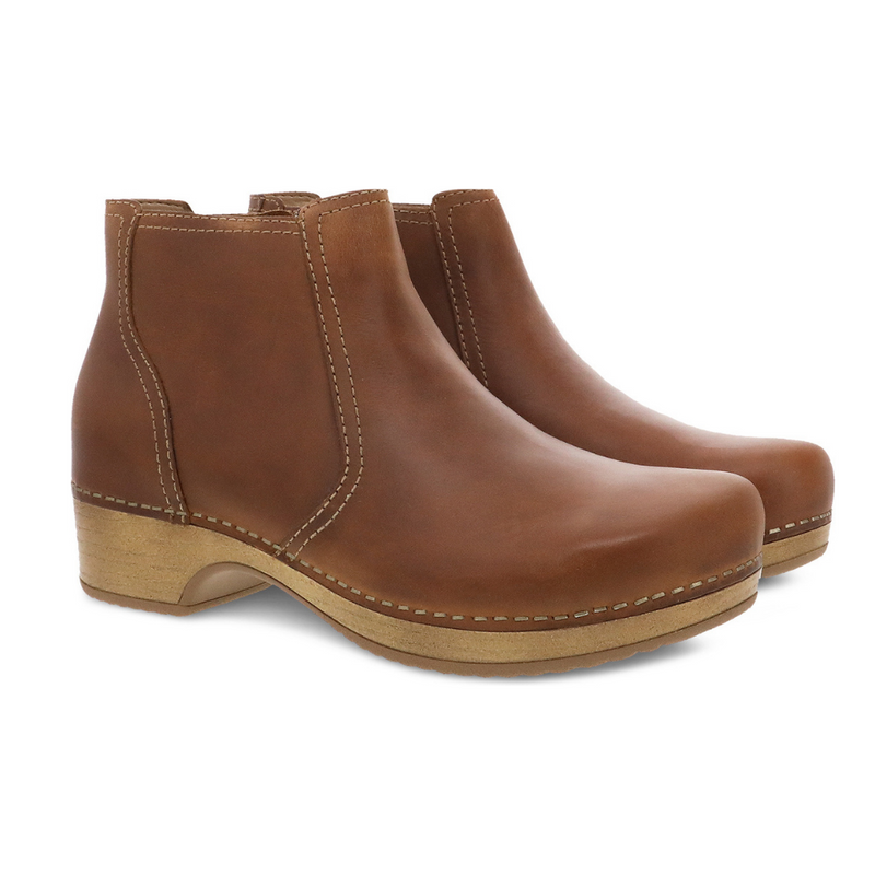 Dansko Barbara Tan Oiled Pull Up Boot