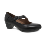 Dansko Dianne Black Aniline Calf Mary Jane