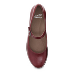 Dansko Kaelyn Cabernet Aniline Calf Mary Jane
