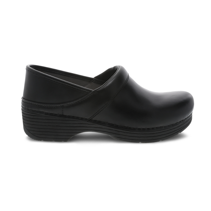 Dansko Lt Pro Black Leather Clog