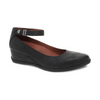 Dansko Shaylee Black Waterproof Wedge Pump