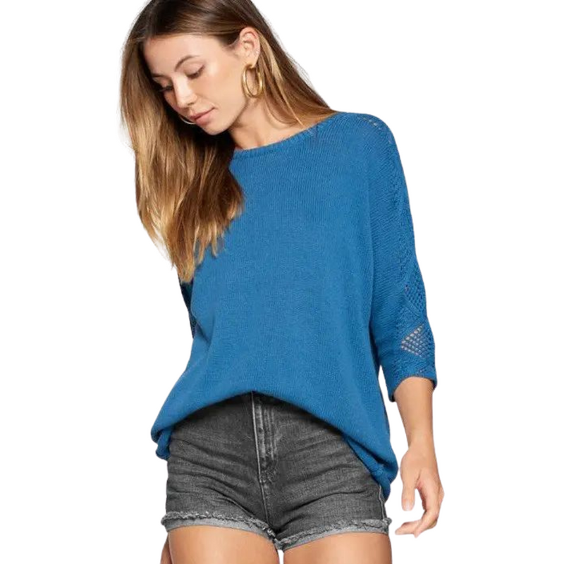 Ellen Blue Sweater