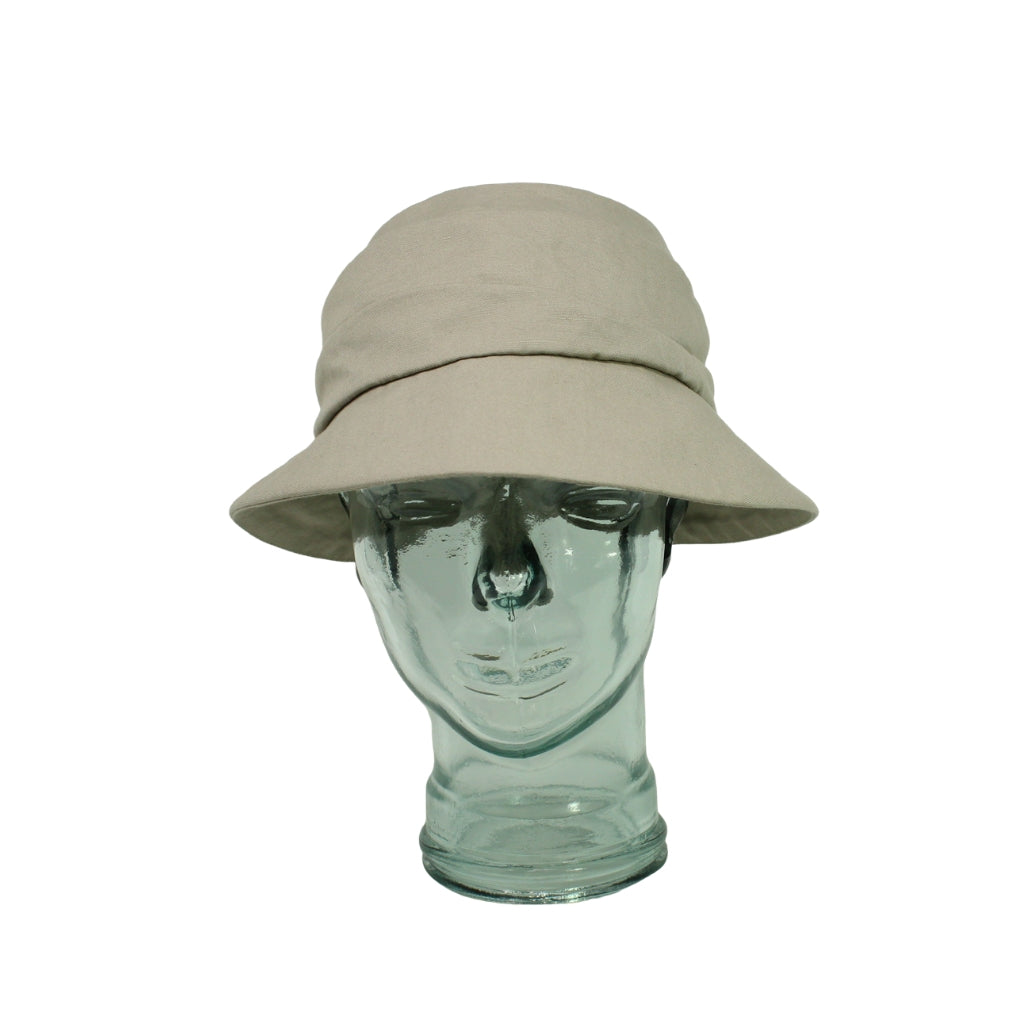 Lillie & Cohoe Gabriola Freda Taupe Hat