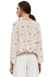 Adele Light Floral Blouse