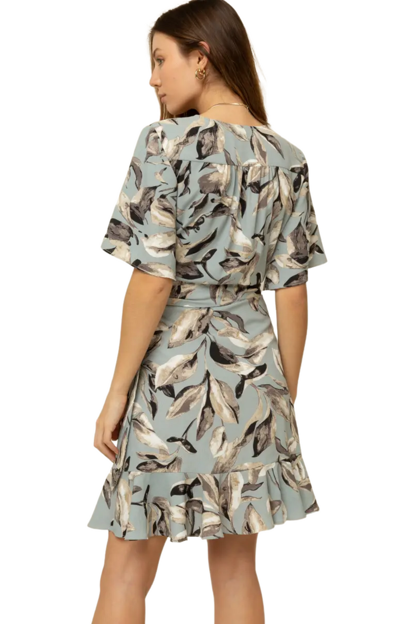 Harper Floral Wrap Dress