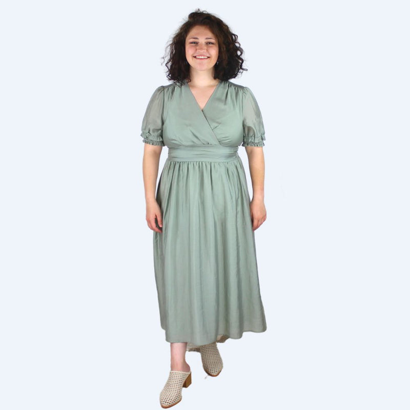 Harper Green Dress