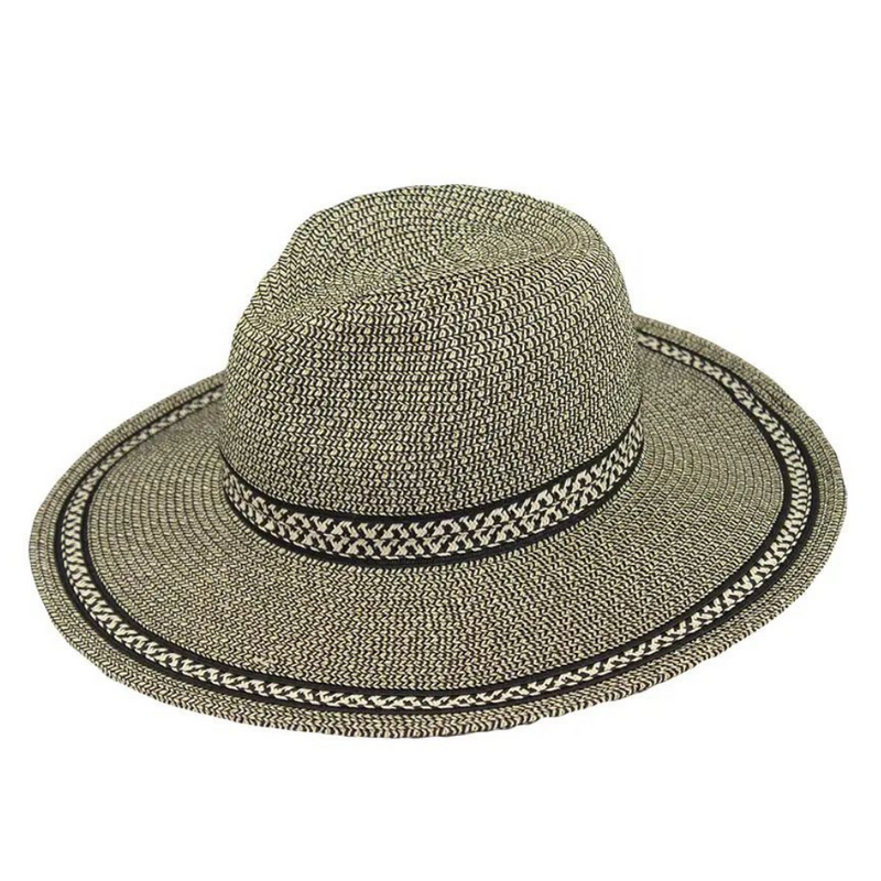 Hat Stack Black Tweed Fedora