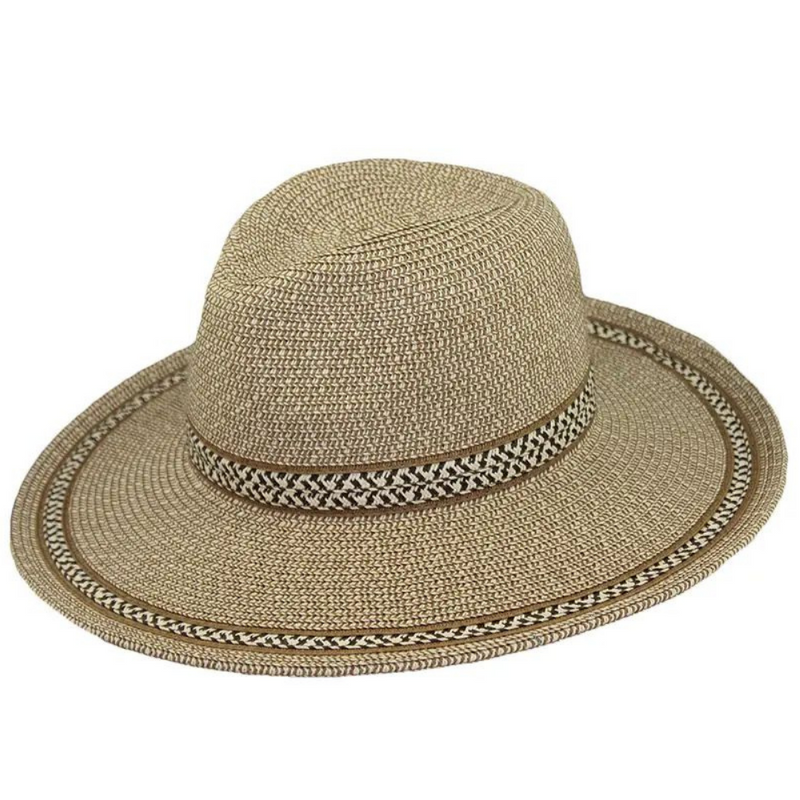 Hat Stack Brown Tweed Fedora