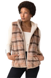 Natalie Tan Plaid Vest