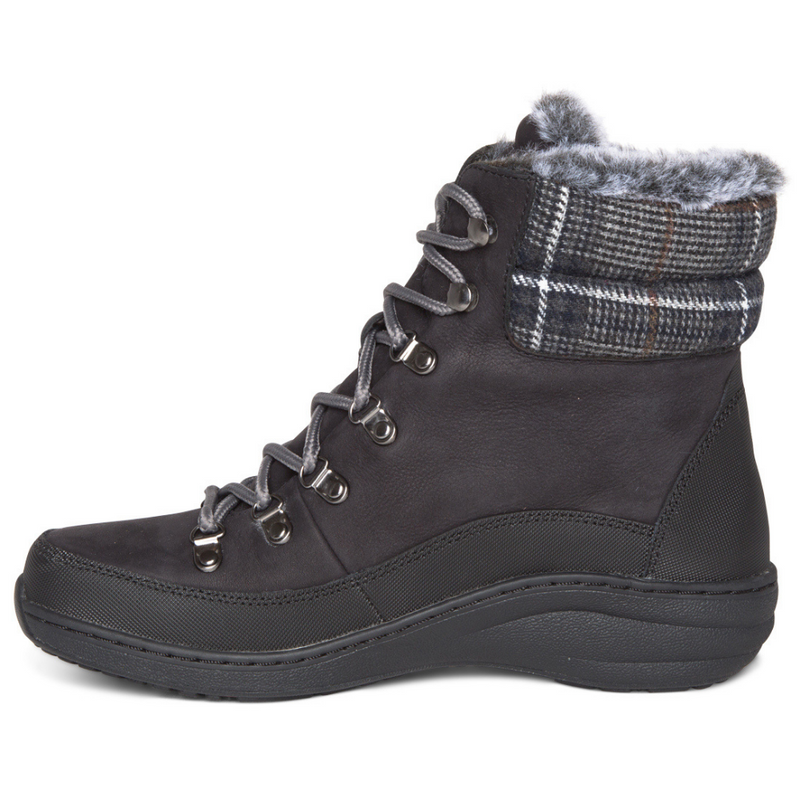 Aetrex Jodie Black Waterproof Ankle Boot