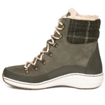 Aetrex Jodie Hunter Green Waterproof Ankle Boot