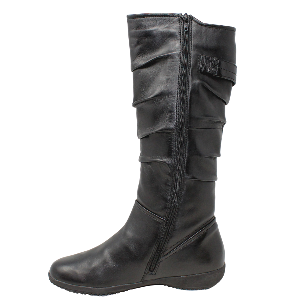 Josef Seibel Naly 23 Black Tall Boot