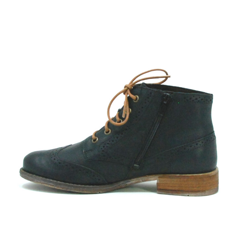 Sienna 74 Black Ankle Boot