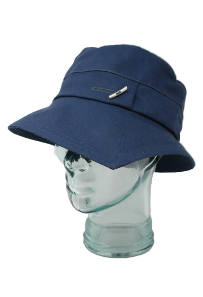 Lillie & Cohoe Lake Country Grace Navy Canvas Hat